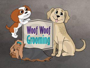logo of Woof Woof grooming
