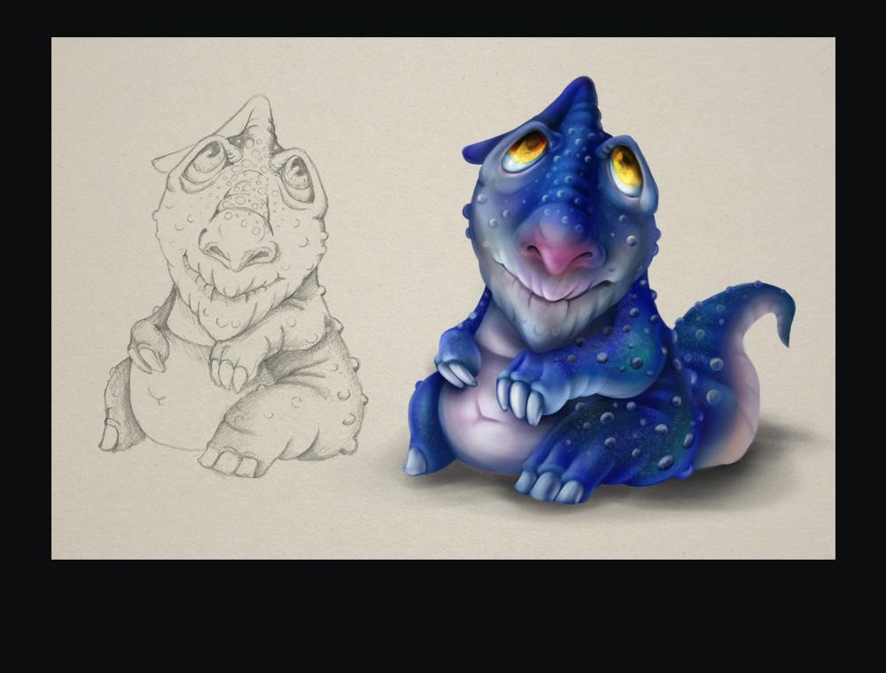 Click to see drawing process